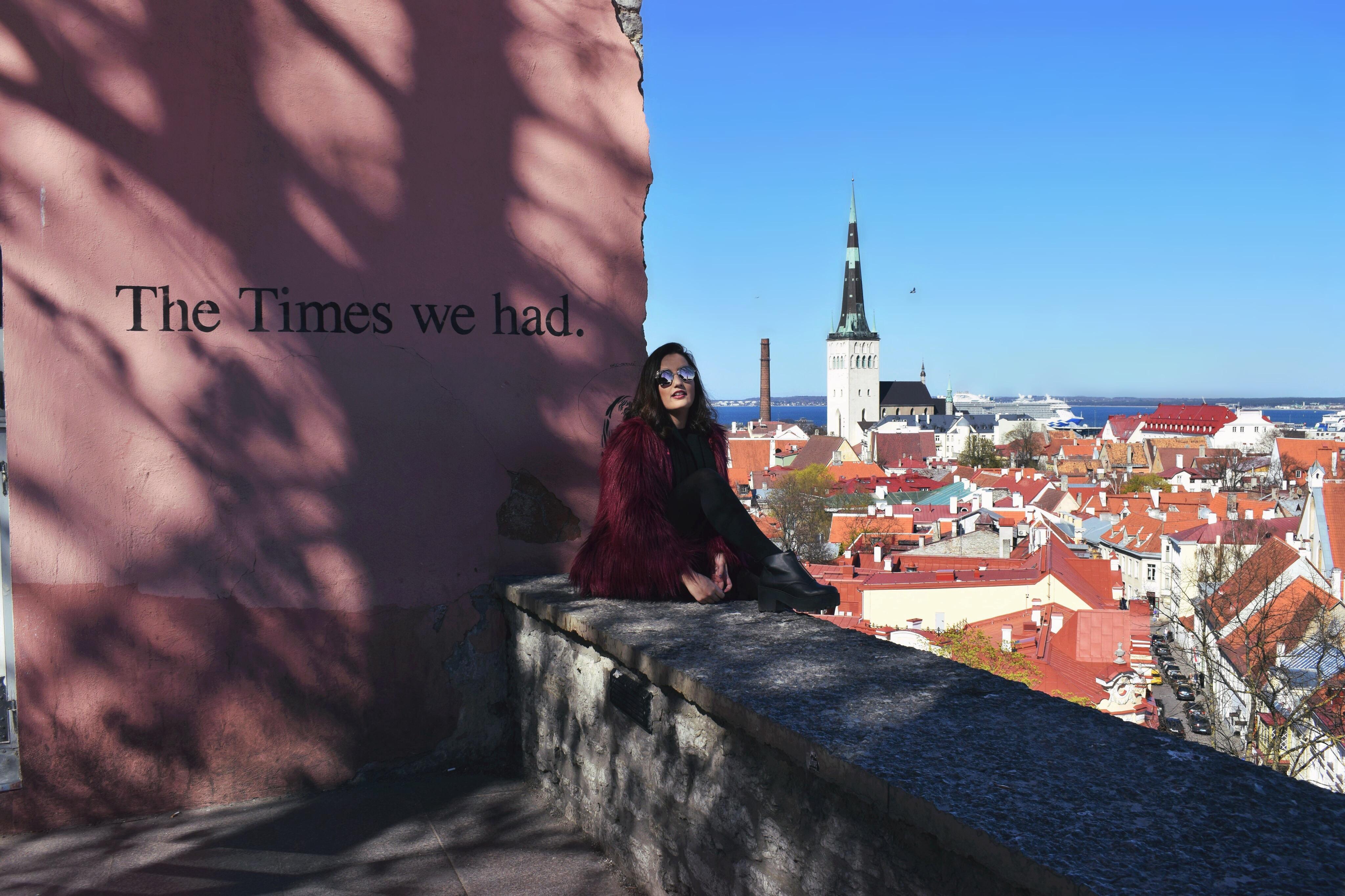 De turismo por Tallinn
